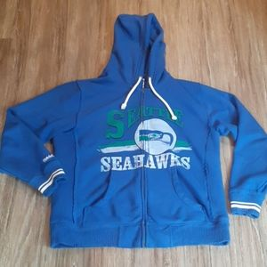 New Mitchell  & Ness Seahawks zip up
